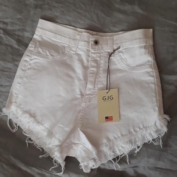 GJG denim Pants - High waist GJG denim shorts size L